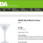 Asda Halloween Glass Product Description