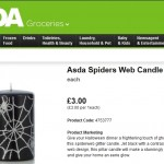 Asda Halloween Candle Product Description