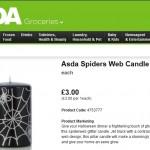 Asda Halloween Candle Product Description