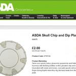 Asda Halloween Plate Description