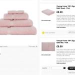 Asda Bathroom Towel Product Description