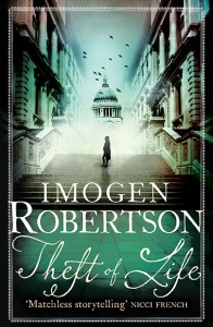 Book Cover - Theft of Life By Imogen Robertson