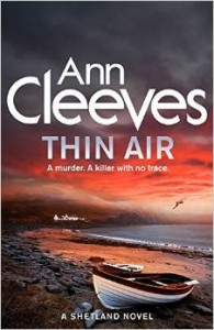 Book Cover- Thin Air by Ann Cleeves