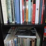 Chichester Copywriter bookshelf