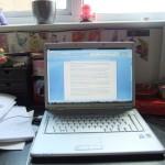 Chichester Copywriter desk