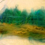Making Tussah Silk Paper 4