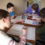 Story Factory Chichester children writing (Rachel Poluton)