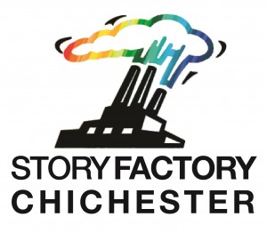 STORY FACTORY CHICHESTER logo with text