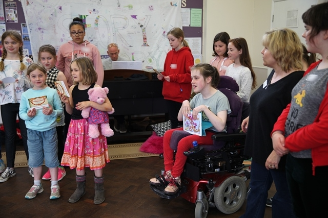 Story Factory Chichester children perform radio ad