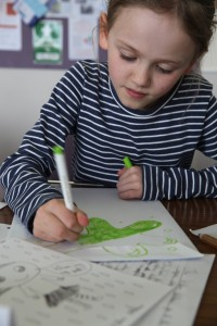 Story Factory Chichester child drawing